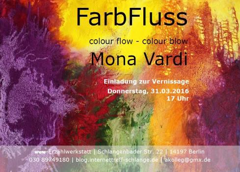 Vernissage FarbFluss 31.03.2016