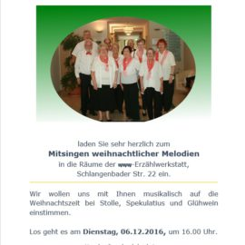 Berliner Vokalisten – Weihnachtssingen