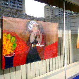 Ausstellung-Edelgard Dietz-Bilder im Zeitenwandel