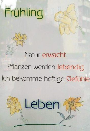 Gedicht zum Frühling
